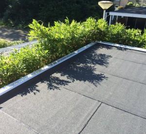Bitumineuze dakbedekking in Enschede